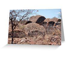 Series: MAPUNGUBWE NATIONAL PARK - World Heritage Site Greeting Card