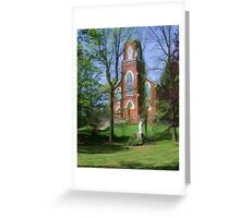 Historic St, Joseph's Catholic Church Greeting Card