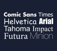 FONTs by seboel
