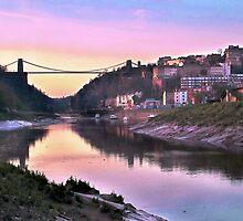 Sunset Bridge by Chris Lyons