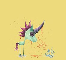 Drunk Octopus by emilymartian