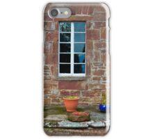 Delgatie Castle From the Backyard (near Turriff, in Aberdeenshire, Scotland) iPhone Case/Skin
