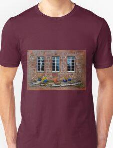 Delgatie Castle From the Backyard (near Turriff, in Aberdeenshire, Scotland) Unisex T-Shirt