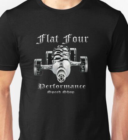 Flat Four Performance dark background Unisex T-Shirt