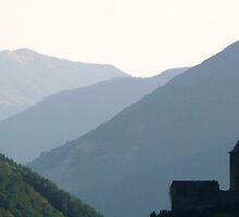 Pyrenean Village by prmorgan