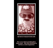 Return of the Keystone Cops Photographic Print