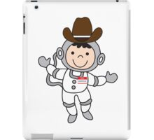 Joey's imaginary friends maurice the space cowboy iPad Case/Skin