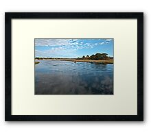 Ipswich Inlet Framed Print