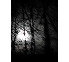 Beware the moon.... Photographic Print