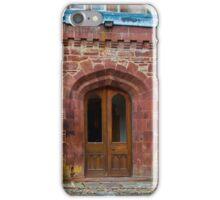 Delgatie Castle from the Back (near Turriff, in Aberdeenshire, Scotland) iPhone Case/Skin