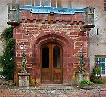 Delgatie Castle from the Back (near Turriff, in Aberdeenshire, Scotland) by Yannik Hay