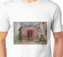Delgatie Castle from the Back (near Turriff, in Aberdeenshire, Scotland) Unisex T-Shirt