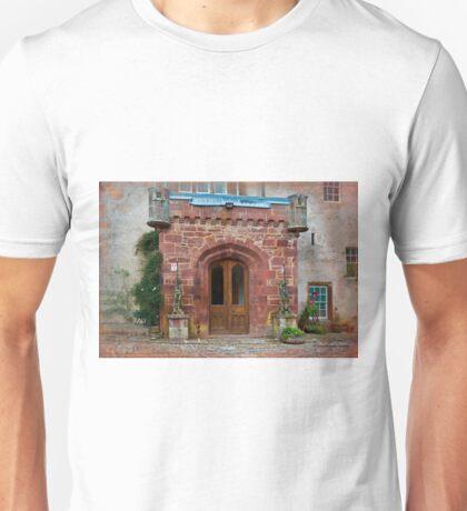 Delgatie Castle from the Back (near Turriff, in Aberdeenshire, Scotland) Unisex T-Shirt