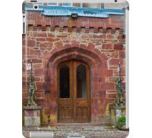 Delgatie Castle from the Back (near Turriff, in Aberdeenshire, Scotland) iPad Case/Skin
