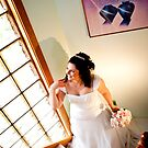 Bride in anticipation by Mili Wijeratne