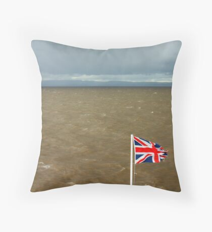 Bristol Channel Throw Pillow