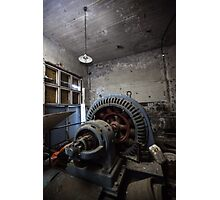 Machine in the Dark Photographic Print