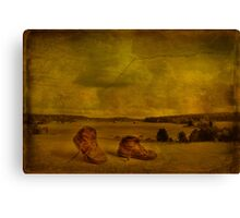 On the way to new adventures Canvas Print