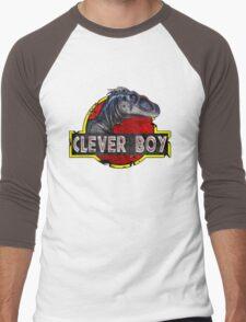 Clever Boy Men's Baseball ¾ T-Shirt