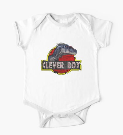 Clever Boy One Piece - Short Sleeve