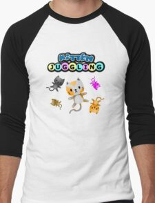 Kitten Juggling - Logo T-Shirt Men's Baseball ¾ T-Shirt