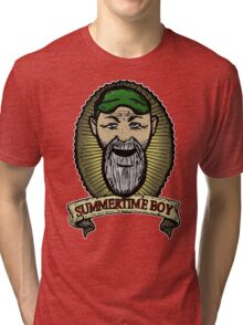 Seasick Steve- Summertime Boy Tri-blend T-Shirt