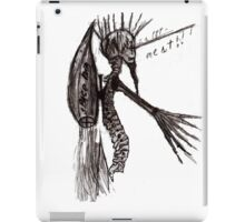 spine man the super hero iPad Case/Skin
