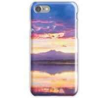 Scenic Colorado Rocky Mountain Sunset View iPhone Case/Skin