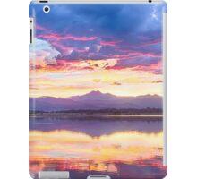 Scenic Colorado Rocky Mountain Sunset View iPad Case/Skin