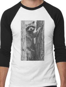 Racoon Men's Baseball ¾ T-Shirt