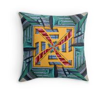 Nyhavn: a different perspective Throw Pillow