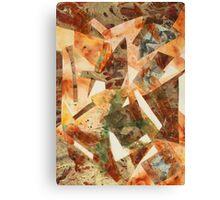 Rusty Pieces Canvas Print