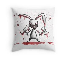 I'm so metal Throw Pillow