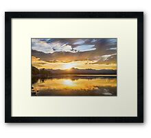 Marching On To The Night Framed Print