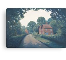 Cypher Cottages, Binfield Heath. Canvas Print