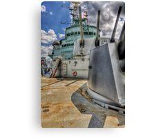 HMS Belfast Canvas Print