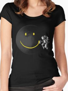 Make a Smile Women's Fitted Scoop T-Shirt