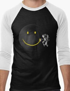 Make a Smile Men's Baseball ¾ T-Shirt