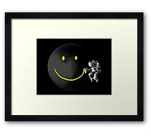 Make a Smile Framed Print