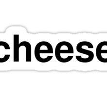 cheese Sticker