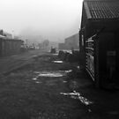 Misty & icy industrial scene by sarnia2