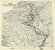 World War II Twelfth Army Group Situation Map December 31 1944 by allhistory
