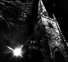 St alkmunds church,Shrewsbury,UK by dan williams