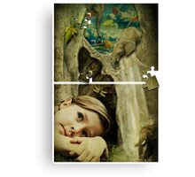 It's a Puzzle Canvas Print