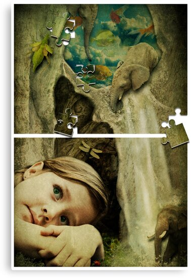 It's a Puzzle by Sybille Sterk