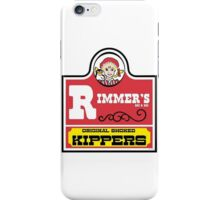 Rimmer's Smoked Kippers iPhone Case/Skin