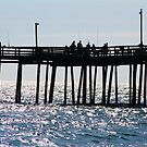 Nags Head Pier by Alberto  DeJesus