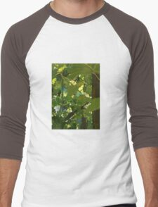 Grape Vine Men's Baseball ¾ T-Shirt