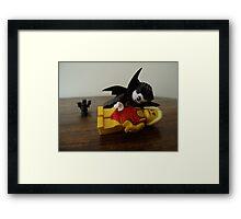 Fang-tastic Framed Print