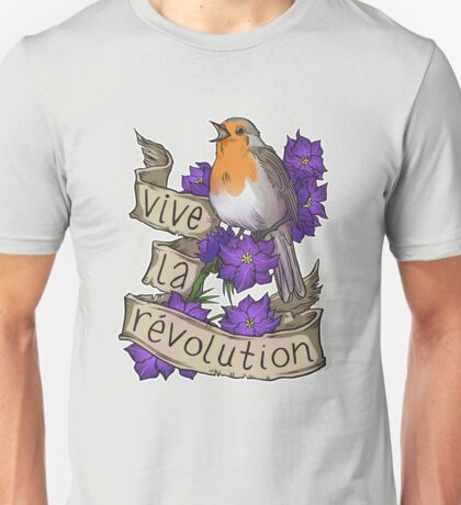 Vive la Revolution Unisex T-Shirt